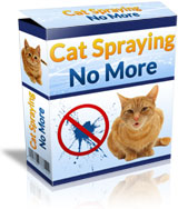 Cat Spraying No More Secret